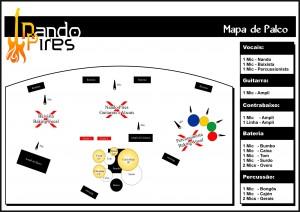 Mapa de Palco - Nando Pires