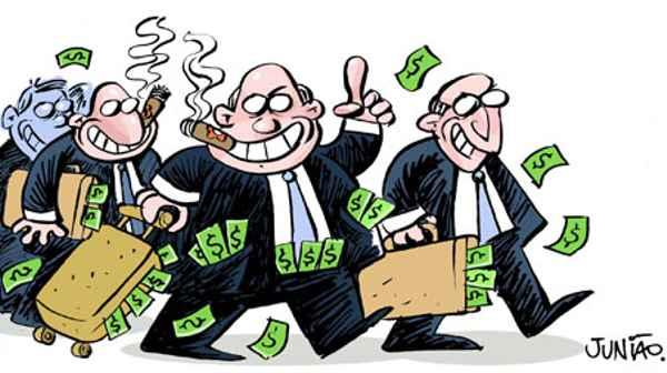 Resultado de imagem para politicos corruptos charges